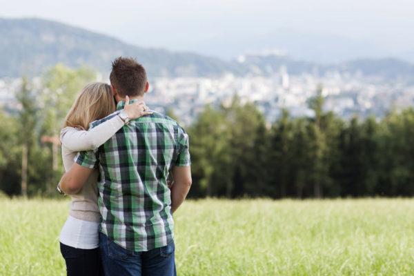 erfolgreiche glückliche Fernbeziehung