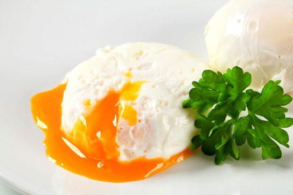 Pochiertes Ei bzw. verlorenes Ei