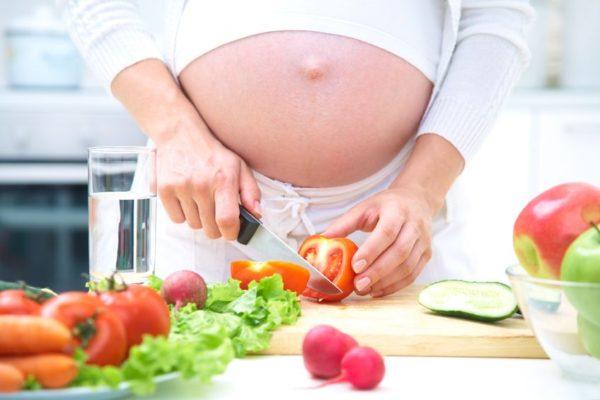 Essen und Ernährung während Schangerschaft