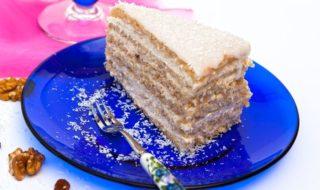 Raffaello Torte Rezept mit Bild - Raffaello Kuchen Rezept einfach ohne Backen