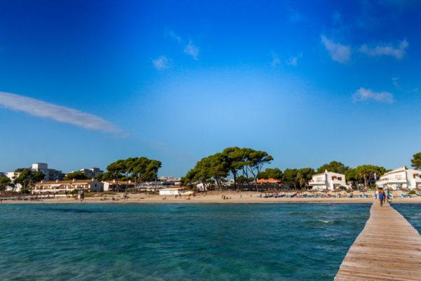 Urlaub Mallorca - Familienurlaub am Strand Alcudia Beach