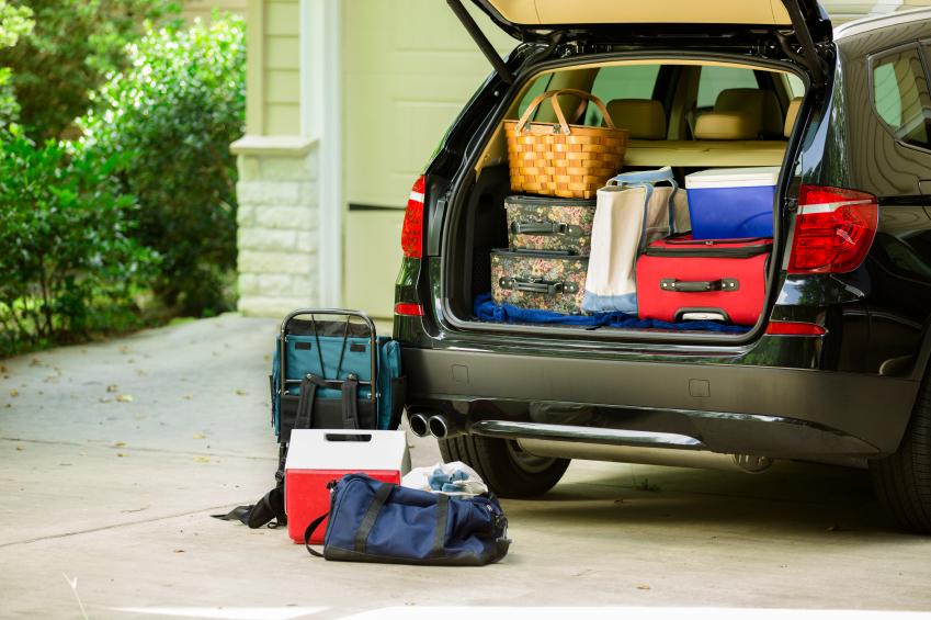 Auto ins Urlaubsziel bei der Autoreise richtig beladen