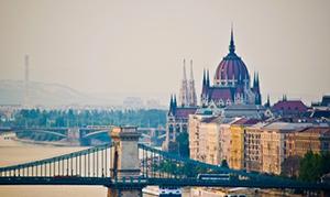 Blick auf Budapest beim Ungarn Urlaub am Plattensee Balaton