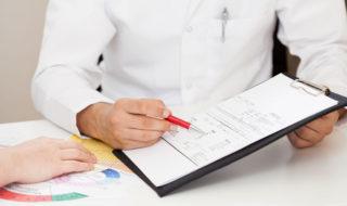 Pap-Test mit Pap-Abstrich und Pap-Befund zur Krebsfrüherkennung bei der Vorsorgeuntersuchung