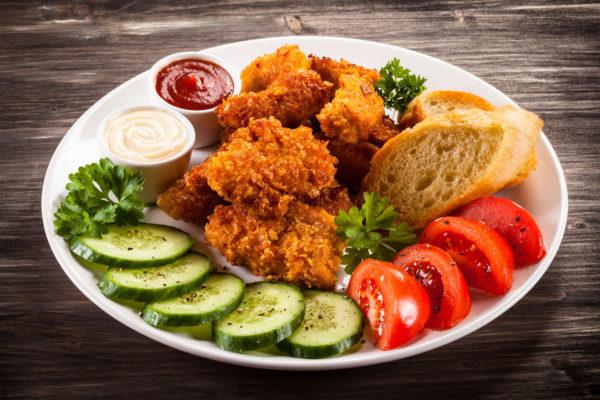 Rezept zum Crispy Chicken Nuggets selber machen