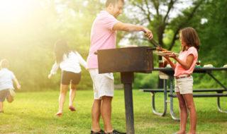 Grillen mit Kindern