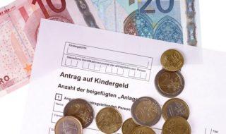 Kindergeldantrag