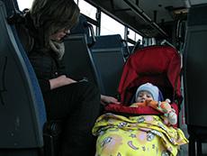 Mit dem Kinderwagen reisen