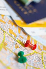 Ausreise- und Einreisedokumente für die Einwanderung