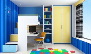 Größe und Stauraum im Kinderzimmer