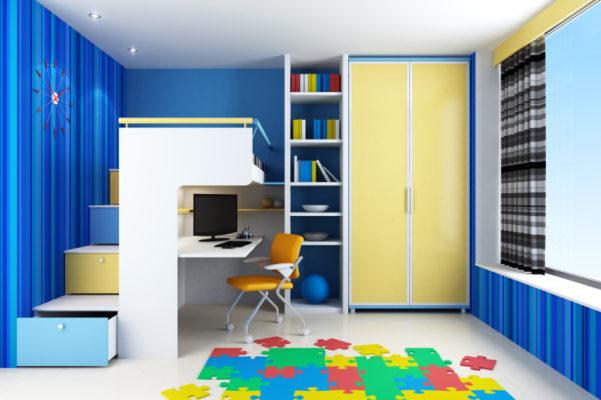 kleine zimmerrenovierung design stauraum kinderzimmer, kinderzimmer – aus kleinen räumen großes machen - socko, Innenarchitektur
