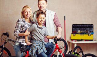 Verkehrssicherheit und Fahrradsicherheit bei Kindern beim Fahrradfahren