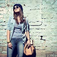 Modetrend Jugend: Jeansjacke