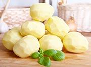 Kartoffelwickel: Halsschmerzen-Hausmittel