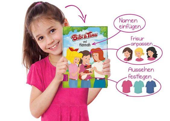 Personalisiertes Kinderbuch framily.de als Weihnachtsgeschenk