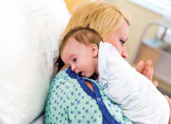 Schluckauf beim Baby und Schluckauf im Mutterleib
