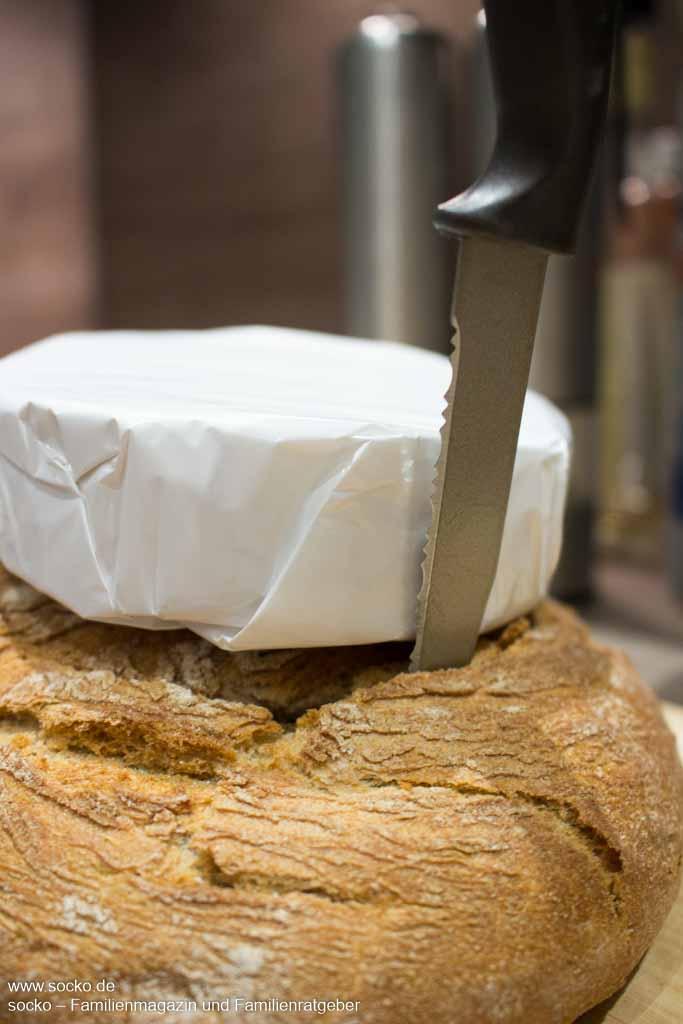 Camembert Bread Bowl Anleitung