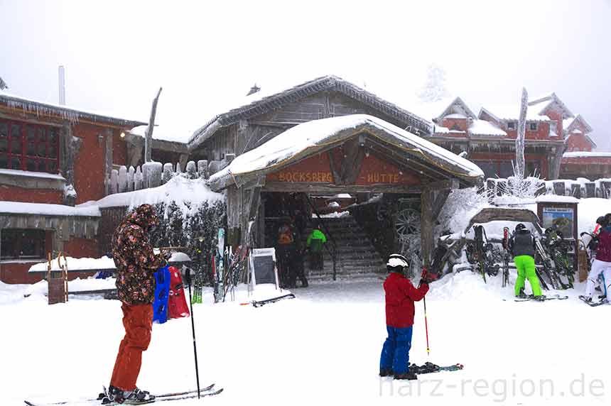 Bocksberg Hütte im Winter