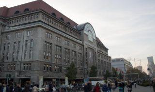 KDW Kaufhaus des Westens und Gedächtniskirche Berlin