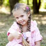 Einfache Flechtfrisuren und Zopffrisuren - Kinderfrisuren für Mädchen