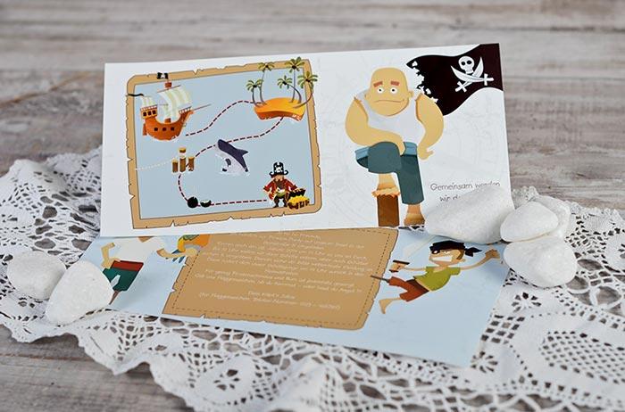Einladungskarte zur Einschulung vom Kind