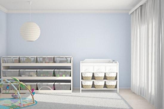 billig ein Babyzimmer praktisch einrichten