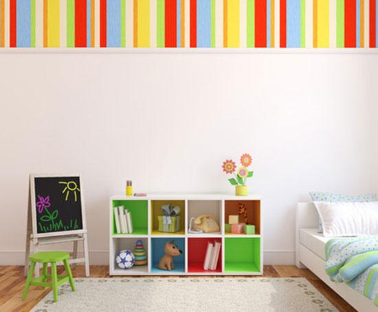 Kinderzimmer Deko-Gestaltung