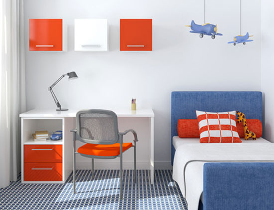Kinderzimmer gestalten für Junge