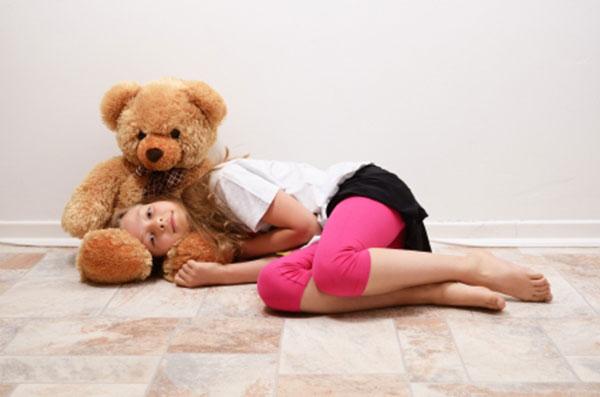 Fußbodenheizung im Kinderzimmer