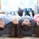 Familie: Couchsurfen mit Kind