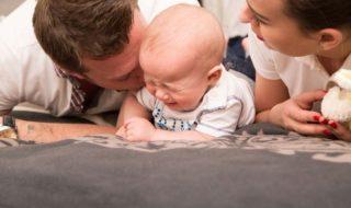 3-Monats-Koliken beim Baby