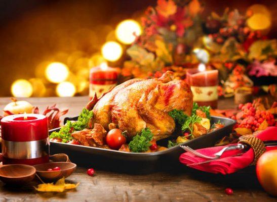 Typisches Essen zu Weihnachten