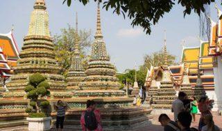 thailändischer Tempel in Bangkok