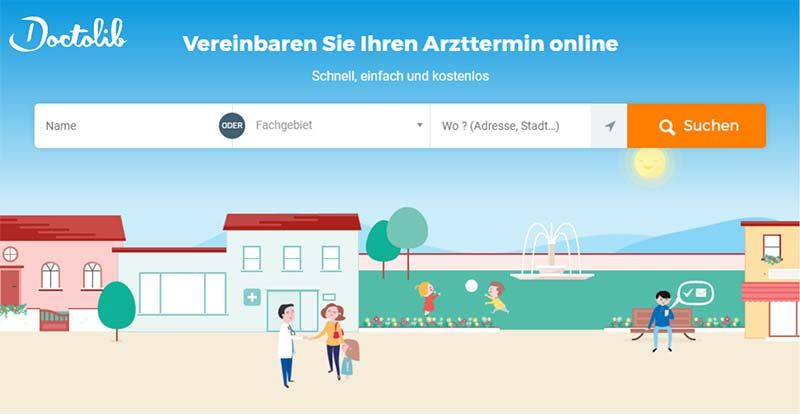 Doctolib: Arzttermin online vereinbaren