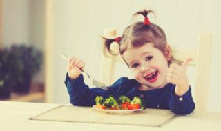 Neue Lebensmittel für Kinder