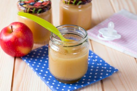 Apfelbrei Rezept fürs Baby