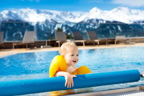 Familien Wellnessurlaub in Deutschland in den Alpen
