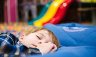 Im Kindergarten übernachten