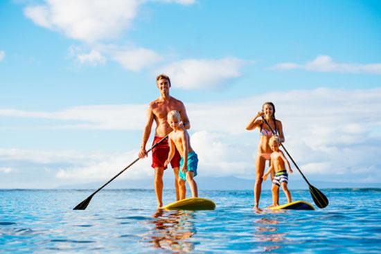 Urlaubserinnerungen festhalten vom Familienurlaub