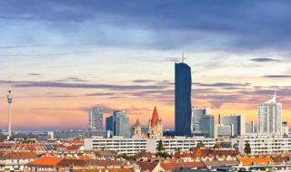 Skyline Wien Familienurlaub