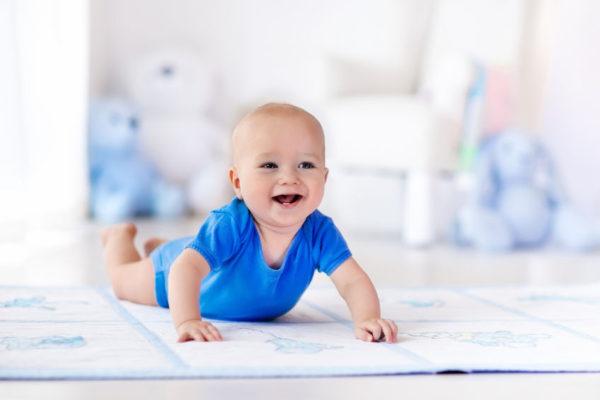 Spieldecke für das Baby