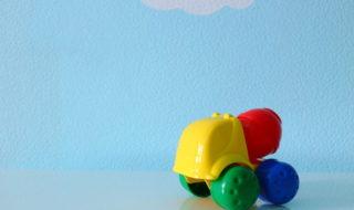 Wandfarbe im Kinderzimmer: hellblau