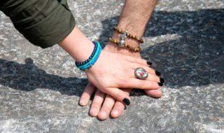 Kleine Geschenke: Partnerarmbänder