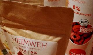 buah: Gefriertrockung von Früchten
