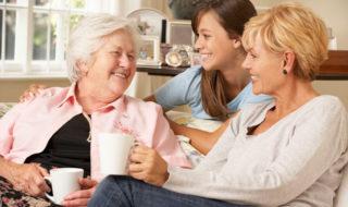 Pflege und Familie vereinbaren