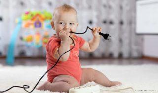 Wohnung und Haushalt babysicher machen