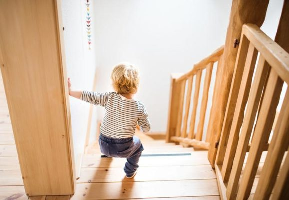 Kindersicherheit Treppen