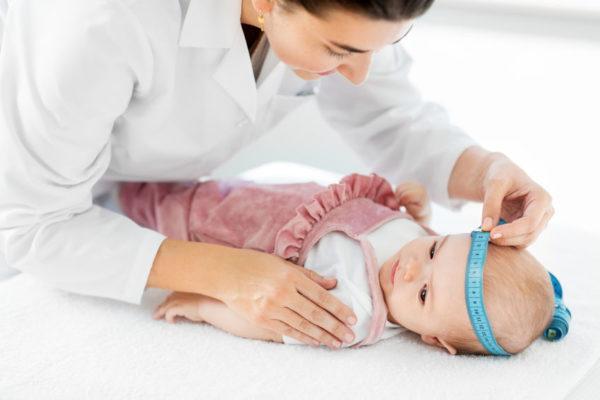 Neugeborene: Kopfumfang Baby