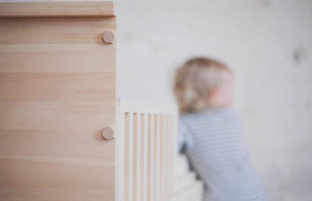 Kinderbett Babybett Zirbenholz